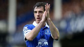Leighton Baines has been strongly linked with a move to Manchester United.