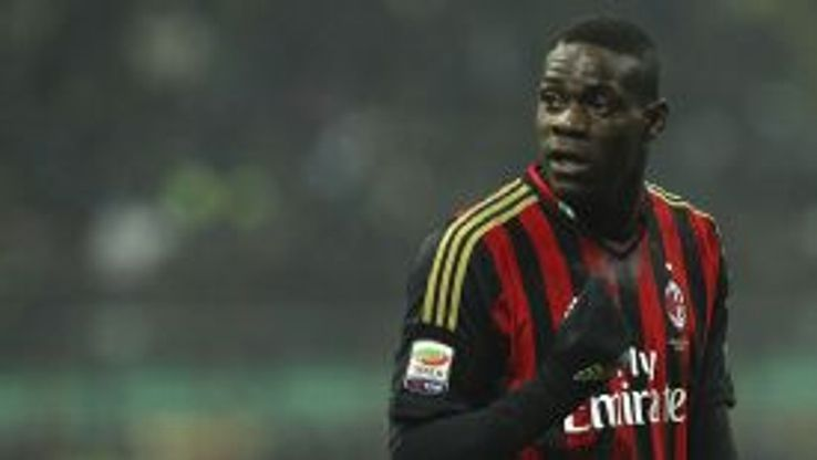 Mario Balotelli had been linked with a winter move to Chelsea.