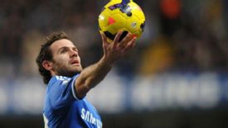 Juan Mata Chelsea ball Hamlet-esque