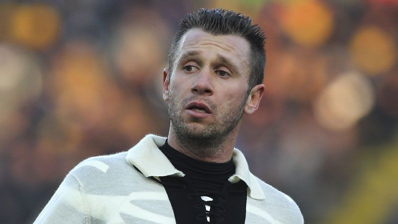 Antonio Cassano insists he is not looking to return to Parma.