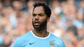 Joleon Lescott's contract at City is due to expire in the summer.