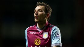 Libor Kozak joined Villa in the summer from Lazio.