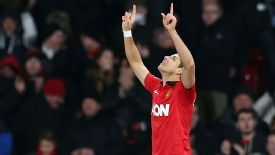 Javier Hernandez scored Man United's leveller against Swansea.