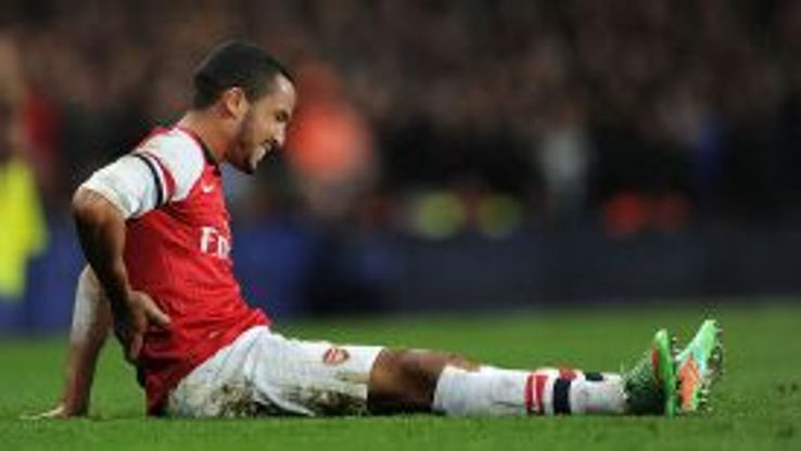 Theo Walcott is expected to miss at least a month due to injury.