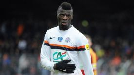 Mbaye Niang made his Montpellier debut on Sunday.