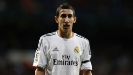 Angel Di Maria has denied making an offensive gesture.