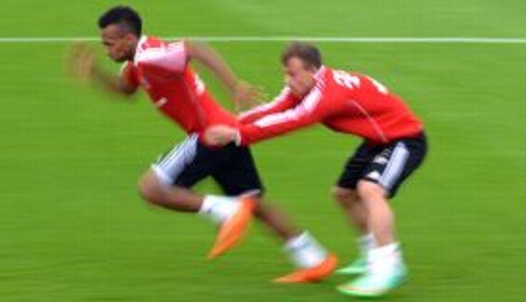 Julian Green Bayern Munich training