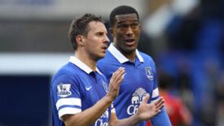 Phil Jagielka and Sylvain Distin are set for a fortnight out.