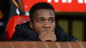 Wilfried Zaha has made just two appearances in the Premier League this season.