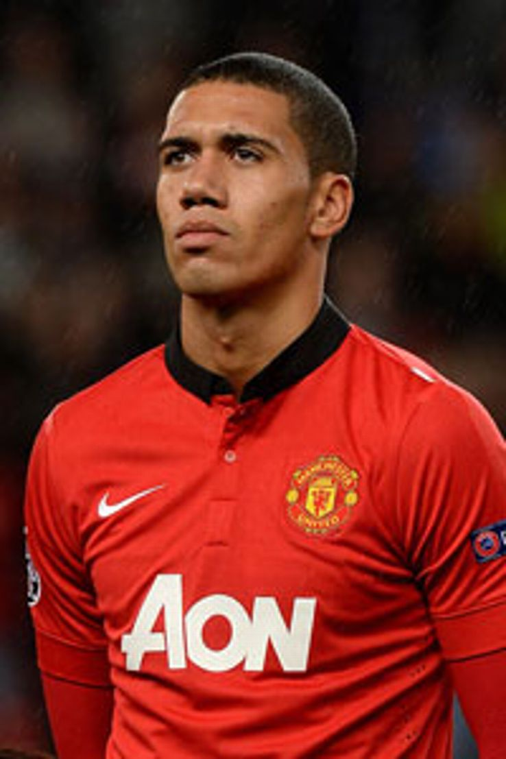 Chris Smalling wore the costume at a Christmas party at his house.