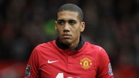 Chris Smalling has apologised for wearing the costume.