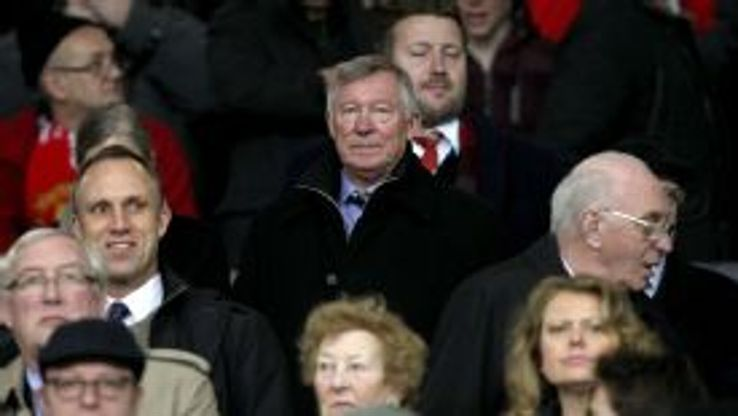 Sir Alex Ferguson has been a regular observer this season.