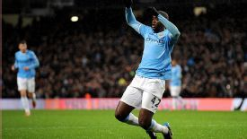 Yaya Toure shrugged off injury to get his name on the scoresheet.
