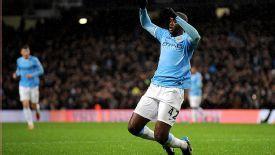Yaya Toure shrugged off injury to get his name on the scoresheet.
