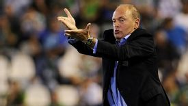 Pepe Mel guided Real Betis back into La Liga from the Segunda.