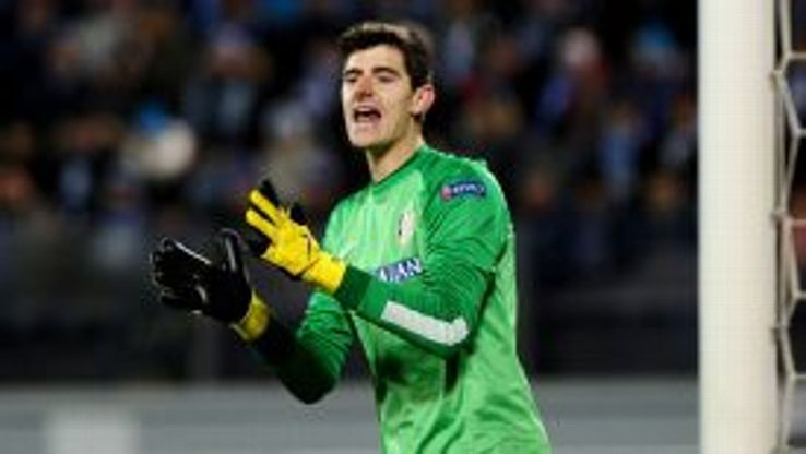 Thibaut Courtois has been on loan at Atletico since 2011.