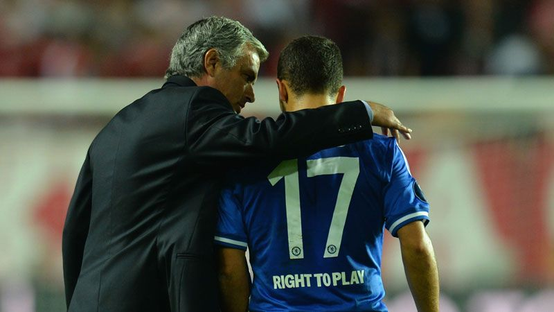 Jose Mourinho has no intention of allowing Eden Hazard to leave Chelsea.