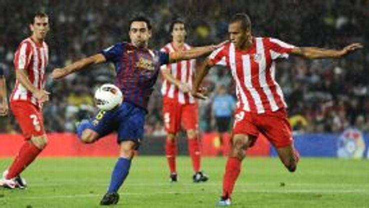 Xavi Barcelona vs Atletico