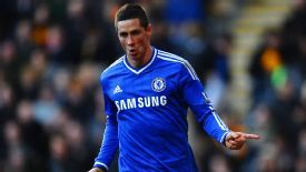 Fernando Torres wheels away after sealing Chelsea's 2-0 win over Hull.