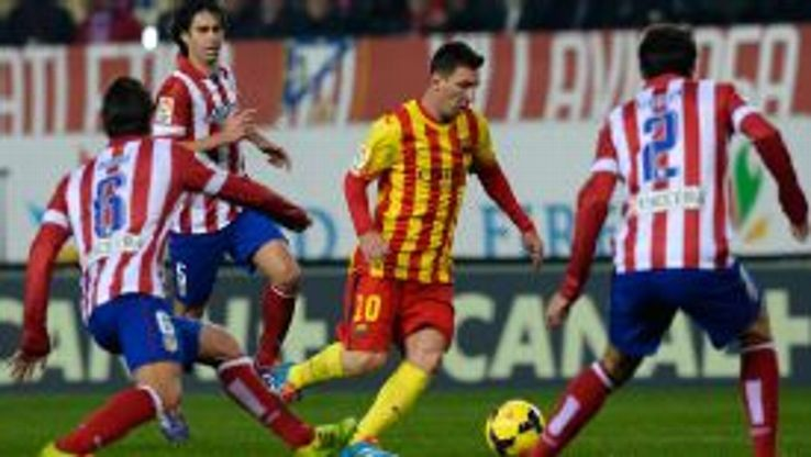 Lionel Messi could not break the deadlock for Barcelona.