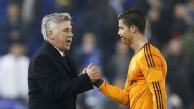 Carlo Ancelotti hopes Cristiano Ronaldo can get even better.
