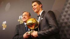 Cristiano Ronaldo was awarded the Ballon d'Or in January.