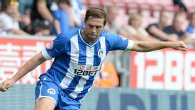 Grant Holt signed for Wigan from Norwich last summer.