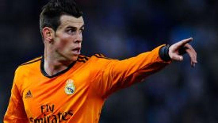 Gareth Bale points Real Madrid.
