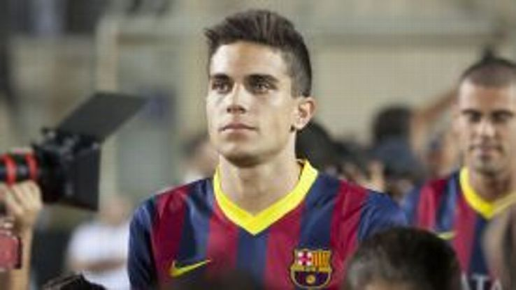 Marc Bartra has committed his future to Barcelona.