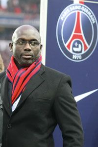 George Weah starred for PSG in the 1990s.