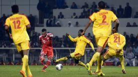 Julian Green scored during Bayern's recent friendly against Al-Merrikh.