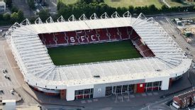 St Mary's Stadium.