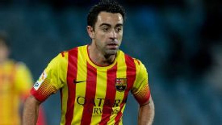 Xavi made his first-team debut for Barca in 1998.
