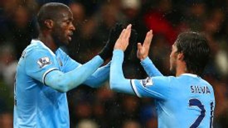 Toure and Silva both missed the FA Cup rout of Blackburn.