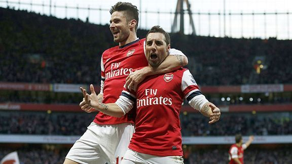 Arsenal and City pull clear at the top