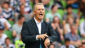 Gary van Egmond has parted ways with the Newcastle Jets.