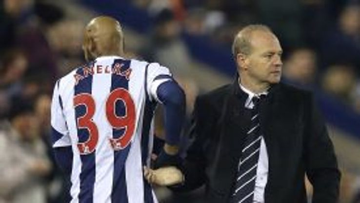Nicolas Anelka played 77 minutes of Pepe Mel's first game in charge of West Brom.