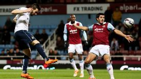 Alvaro Negredo headed home for City in the opening minutes at Upton Park.