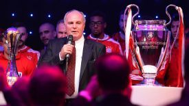 Uli Hoeness has been part of the backroom staff at Bayern since his retirement as a player in 1979.