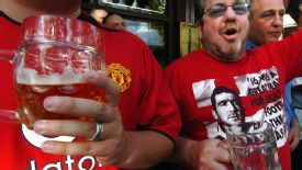 Manchester United beer