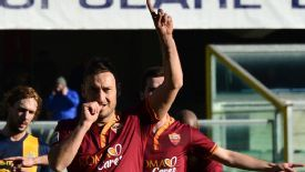 Francesco Totti was on target from the penalty spot to put the result beyond doubt for Roma.