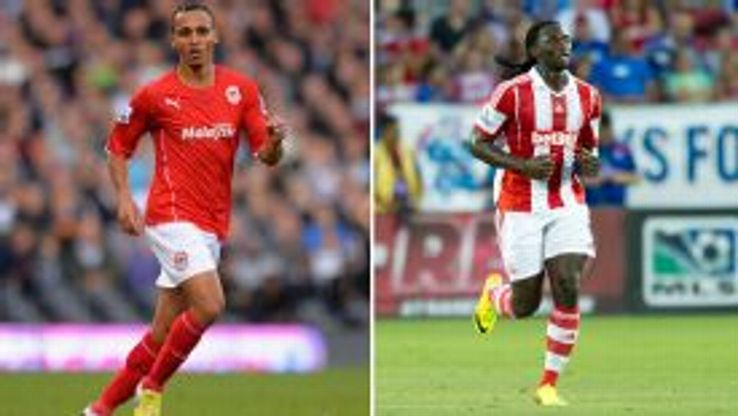 Peter Odemwingie and Kenwyne Jones swapped clubs in January.
