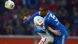 Felipe Santana is hoping his form in the second half of the season for Schalke will win the recognition of Luiz Felipe Scolari