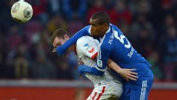 Felipe Santana is hoping his form in the second half of the season for Schalke will win the recognition of Luiz Felipe Scolari