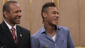 Neymar Sr and Neymar Jr