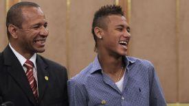 Neymar Sr and Neymar Jr