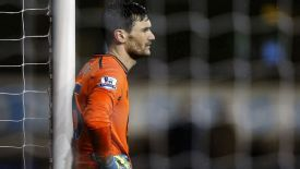 Hugo Lloris dismayed Tottenham vs Man City