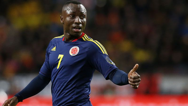 Pablo Armero is a Colombioa international.