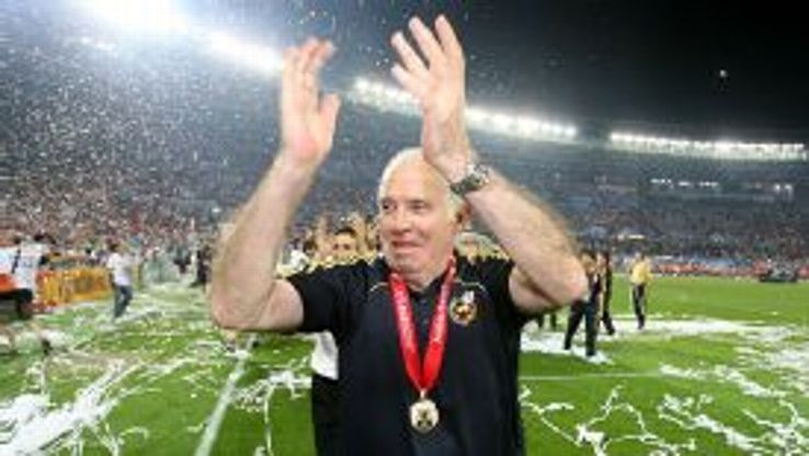 Luis Aragones led Spain to glory at Euro 2008.