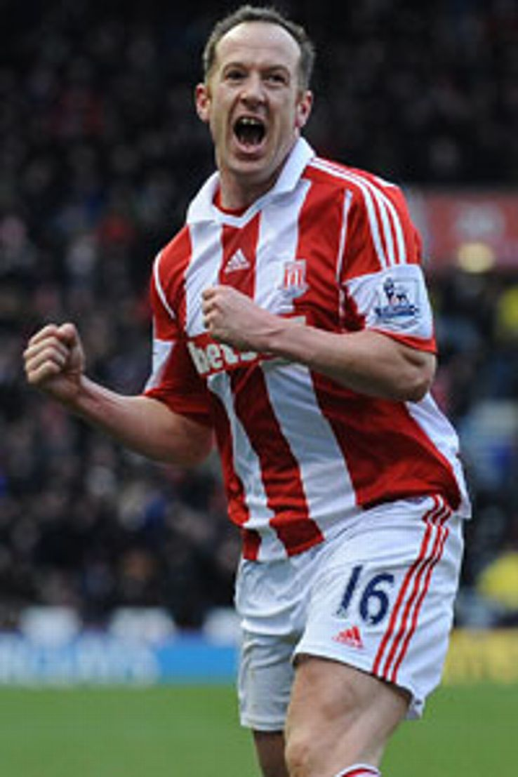 Stoke midfielder Charlie Adam helped himself to a match-winning brace against Man Utd.